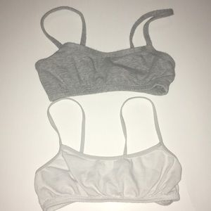 Girls sports bras